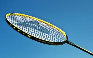 Badminton-Bildreihen-des-Sports