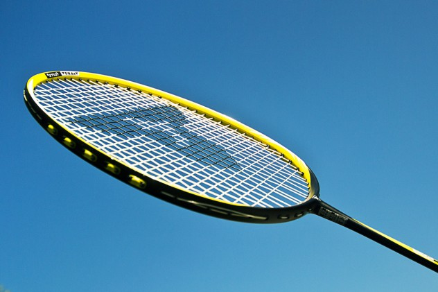 Badminton-Bildreihen-des-Sports
