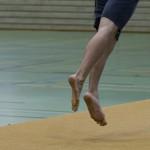 Turnen – Boden: 360 Grad Drehung