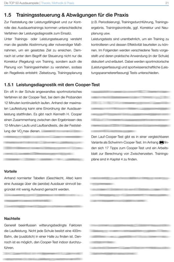 cooper test tipps